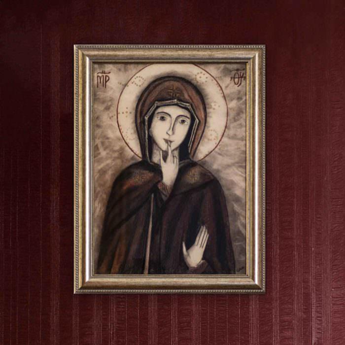 quadro intitolato madonna-del-silenzio-05