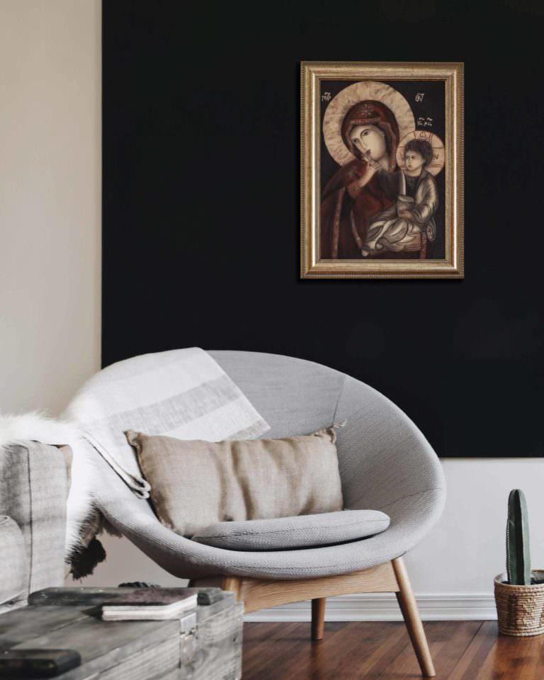 quadro intitolato madonna-della-tenerezza-01