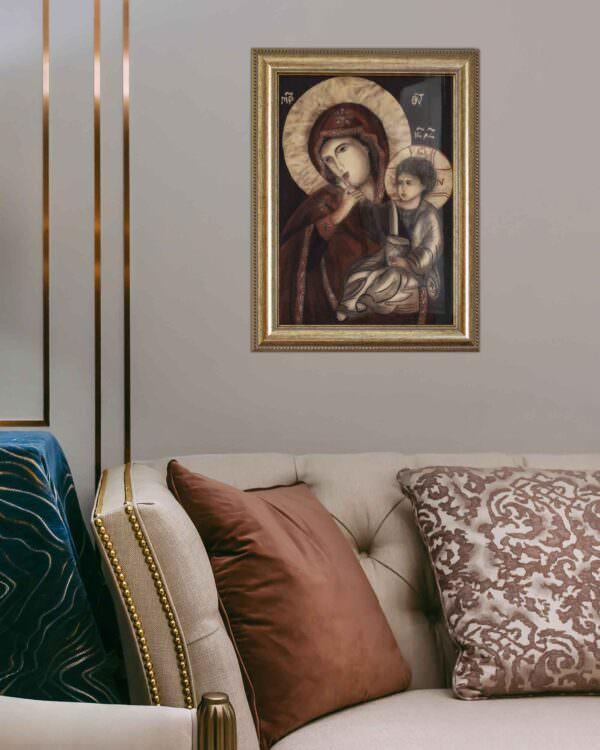 quadro intitolato madonna-della-tenerezza-v3