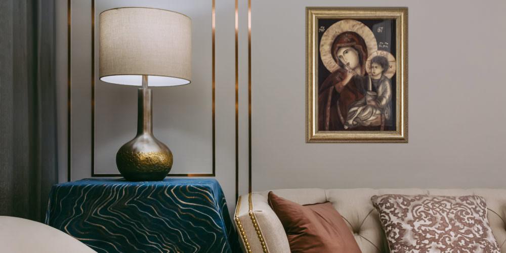 quadro intitolato madonna-della-tenerezza-v4