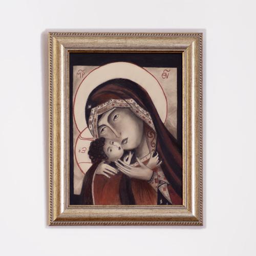 il quadro intitolato madonna della tenerezza