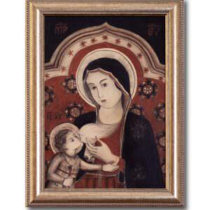il quadro rappresenta la madonna del latte
