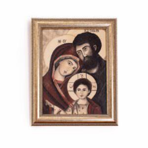 quadro intitolato la sacra famiglia