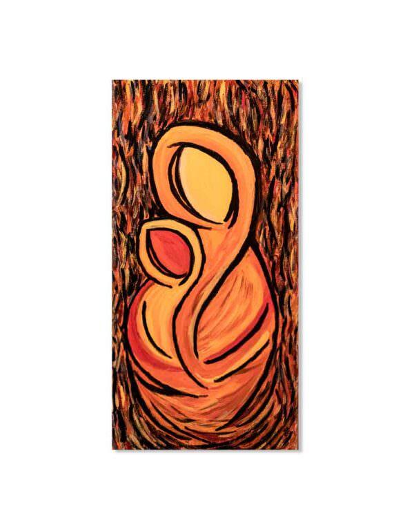 quadro intitolato theotocos dello spirito