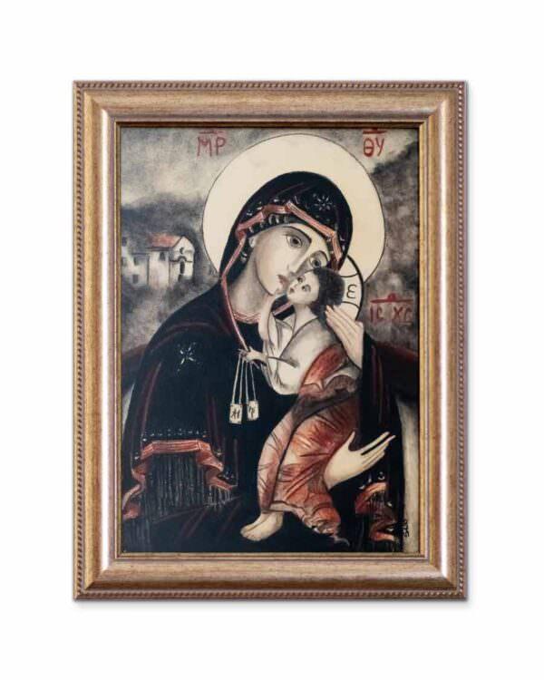quadro intitolato la madonna del carmine