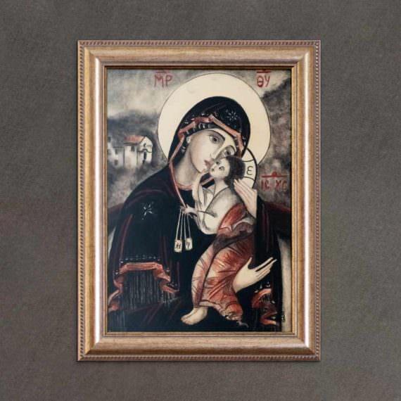 quadro intitolato madonna-del-carmine