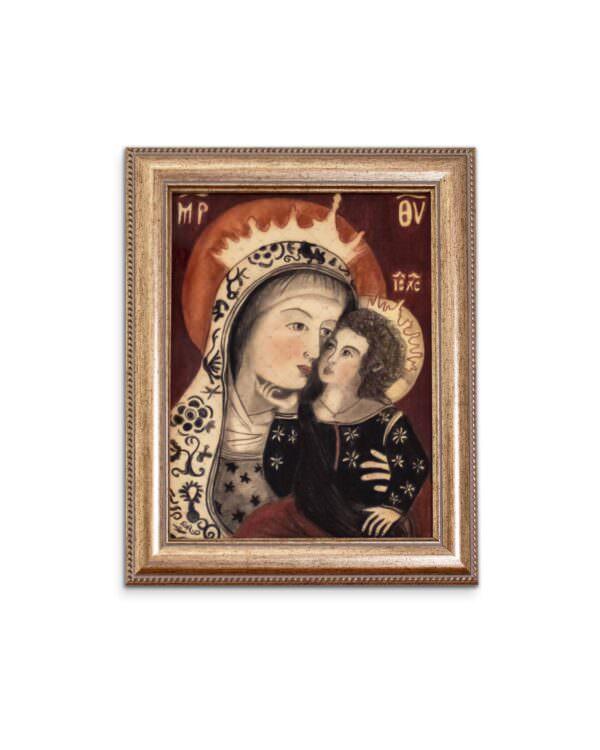 quadro intitolato la madonna delle grazie