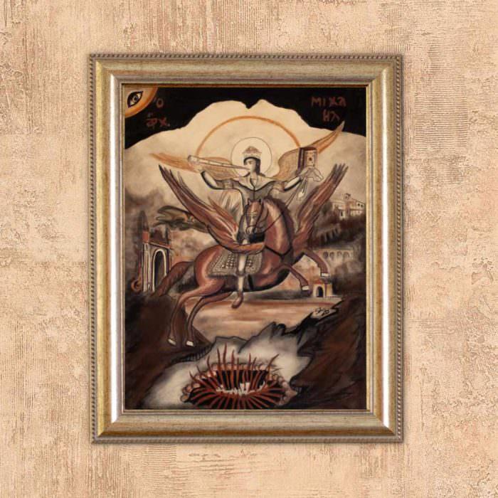 quadro intitolato san michele