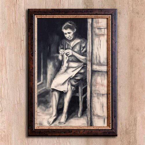 quadro intitolato il sorriso di sarah