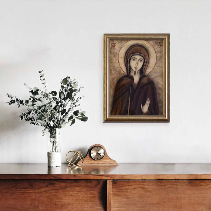 quadro intitolato madonna-del-silenzio-cover