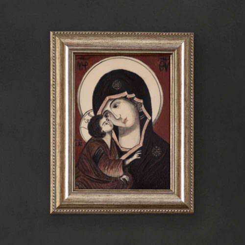 quadro intitolato madonna-della-tenerezza-coversquare
