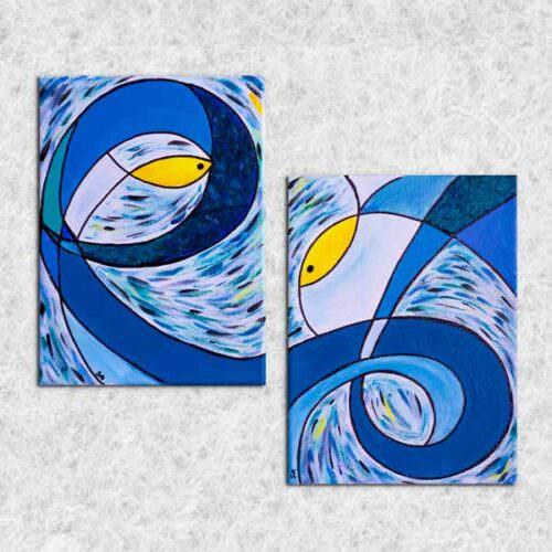 quadro intitolato lo-stesso-mare