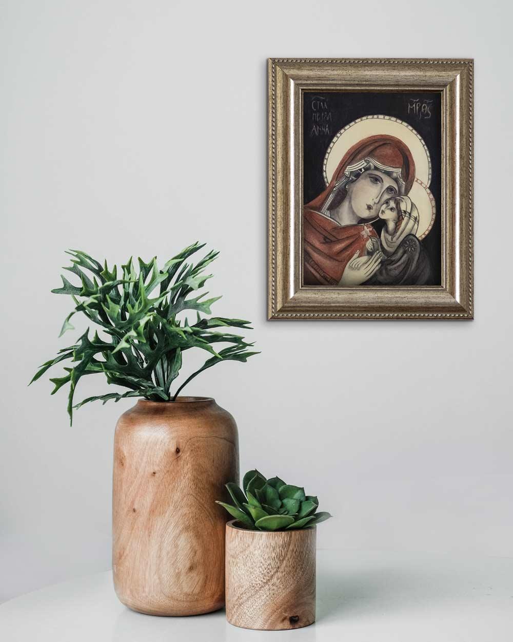 quadro intitolato santanna e maria